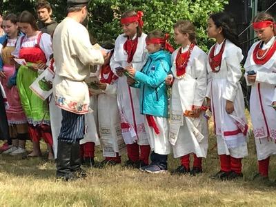 День народа водь отметили в Ленинградской области
