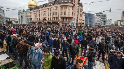 В Москве Ураза-байрам отпразднуют более ста тысяч мусульман