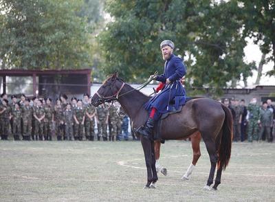 Ростовских казаков отправили в Москву репетировать парад Победы