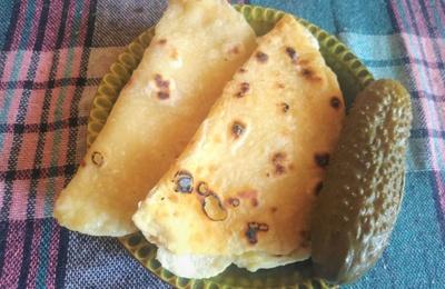 Татарские лепешки кыстыбый с картошкой
