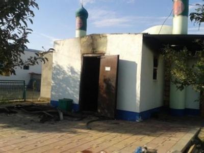 В Калмыкии сожгли единственную в столице мечеть