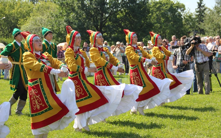 Празднование Ысыаха-2013 в Москве