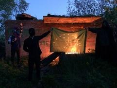 Адыгейские художники устроили перформанс из-за отсутствия региона на Триеннале российского современного искусства