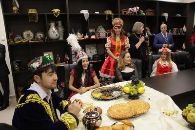 Открытие Дома дружбы народов в Красноярске