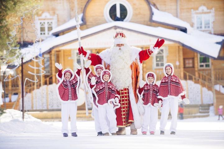 Эксперты назвали самых популярных Дедов Морозов России
