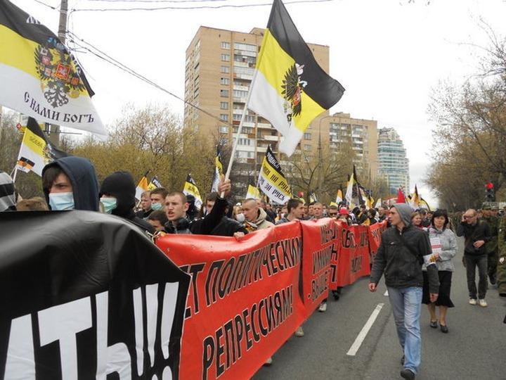 ВЦИОМ: 11% протестующих недовольны участием в митингах националистов