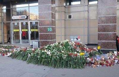 Кавказская молодежь почтила память жертв взрыва в метро Санкт-Петербурга