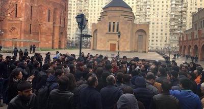 В Москве задержали представителей армянской диаспоры за участие в протестной акции