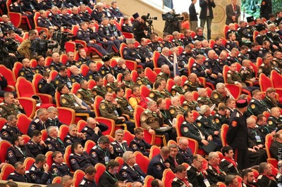 Учредительное собрание Всероссийского казачьего общества проходит в Москве