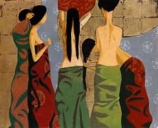 Выставка бурятского художника Зорикто Доржиева открылась в Третьяковской галерее