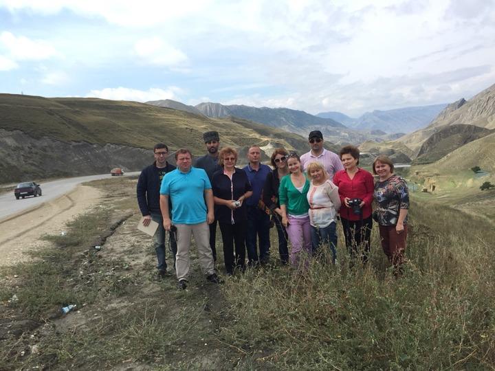 Члены Гильдии межэтнической журналистики прибыли в Дагестан
