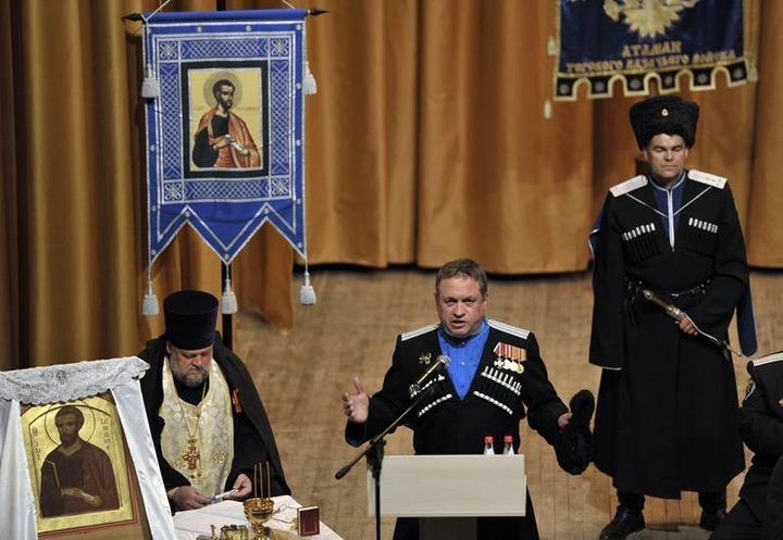 Терские казаки выбрали атаманом войска помощника Хлопонина