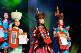 "На ""Алтаргане"" в конкурсе красоты победили сразу три девушки"