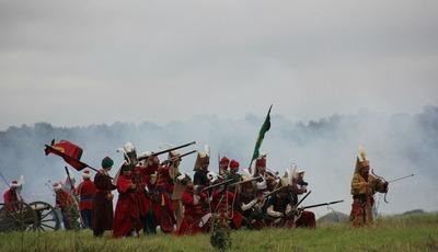 В Подмосковье реконструировали битву с крымскими татарами