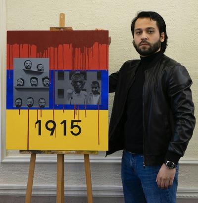 Красноярский художник посвятил картину Дню памяти жертв геноцида армян