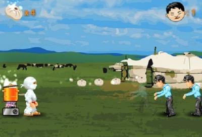 В Бурятии создали игру со стреляющим буузами ниндзей