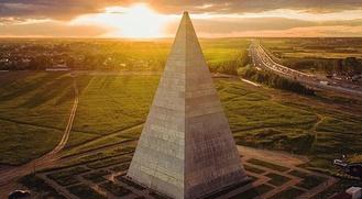 Пирамида Голода в Подмосковье разрушилась после языческого обряда