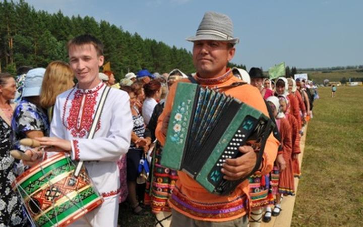 Многонациональную марийскую веревочку сплели в Башкирии