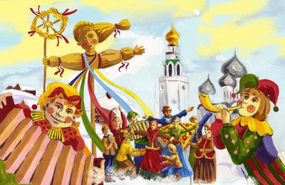 Жителей Рязани зовут отпраздновать Масленицу в музей Есенина