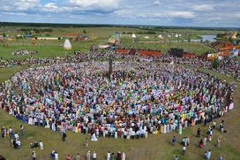 Якутский круговой танец осуохай предложили внести в список ЮНЕСКО