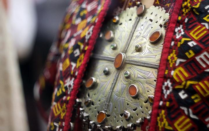"""Выставка """"Театральный и народный костюм"""" в Бахрушинском музее в Москве"""