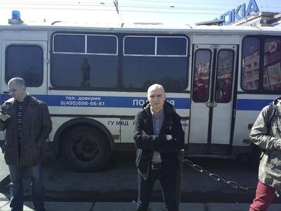 Националиста задержали перед собранием инициативной группы в Удомле