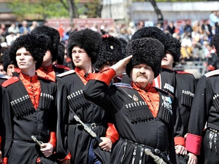 Луганские казаки споют в Сочи про веру, отчизну и любовь
