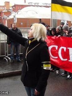 """Возбудили уголовное дело против экс-активистки объединения """"Русские"""""""