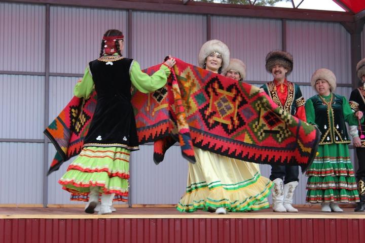 В Башкирии провели фестиваль национальных паласов