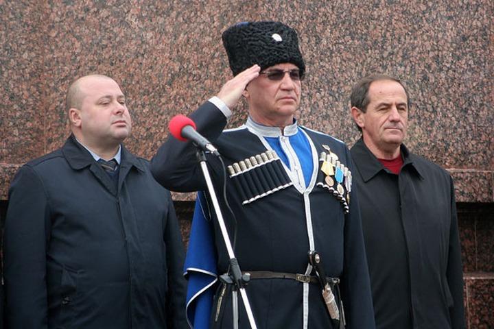 Атаман Терского казачьего войска ушел в отставку из-за конфликта