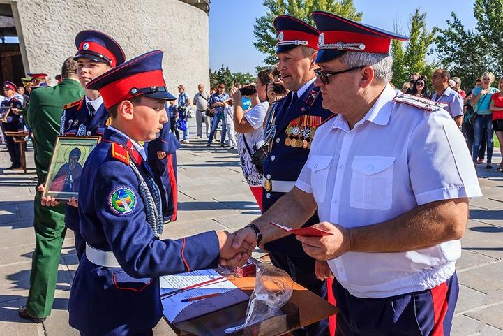 Волгоградский казачий кадетский корпус отметил шестилетие