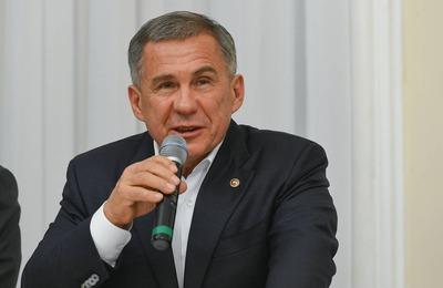 Глава Татарстана заявил о близкой дружбе между татарами и башкирами