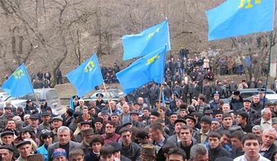 Татарские националисты призвали крымских татар к бойкоту референдума