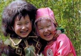 """В конкурсе """"Дети России"""" победила фотография детей в якутских костюмах"""