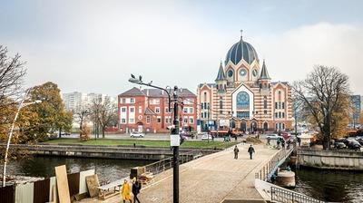 """В Калининграде воссоздали сожженную в """"Хрустальную ночь"""" синагогу"""