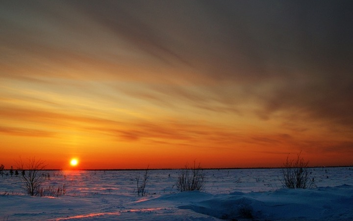 """Коренные народы Таймыра встречают солнце праздником """"Хэйро"""""""
