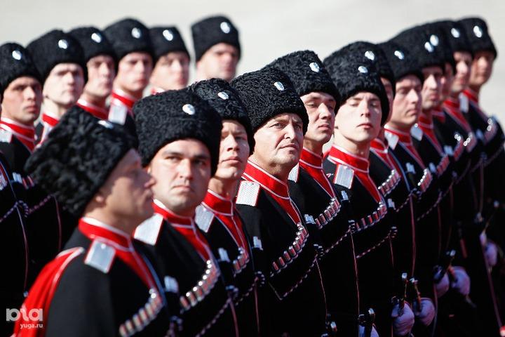 Кубанские казаки спустя 70 лет вновь приняли участие в Параде Победы