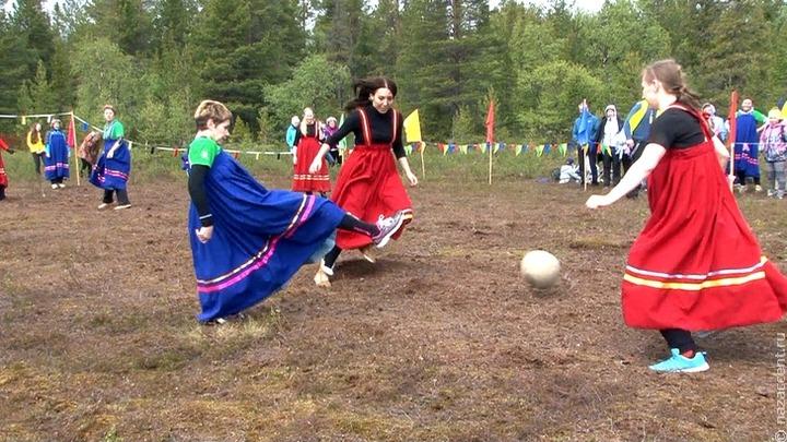 """Участники летних """"Саамских игр"""" сыграют в саамский футбол"""