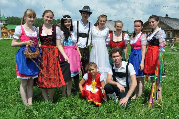 Свадьба российских немцев
