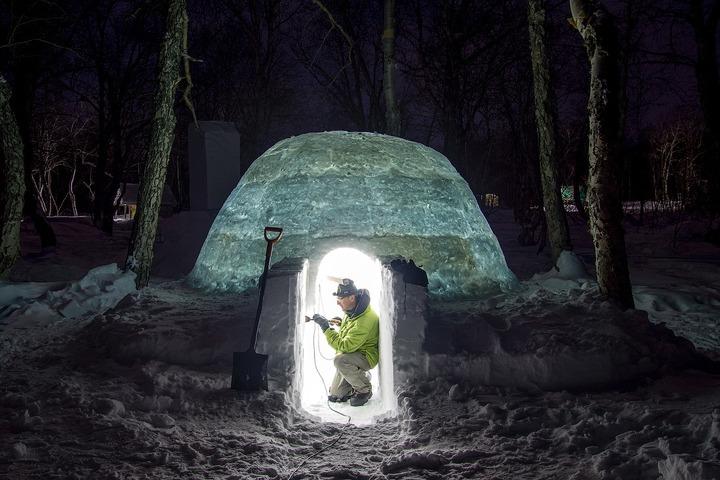 На Камчатке откроют первый в России иглу-отель