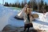 Зимняя Ыбица в Финно-угорском этнокультурном парке
