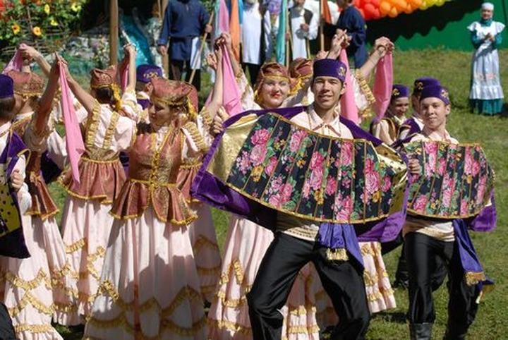 В Казани отгуляли татарский Сабантуй