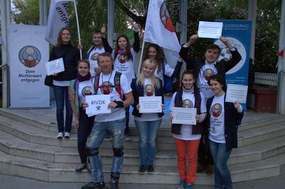 Михаил Швыдкой принял участие в литературной акции российских немцев