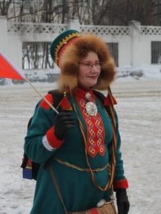 Саамская активистка провела эксперимент в Мурманске в День саамов