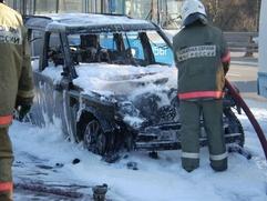 В Мурманске снова подожгли машину главы еврейской общины