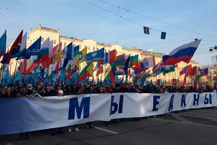 Национальные объединения России отпразднуют День народного единства шествием