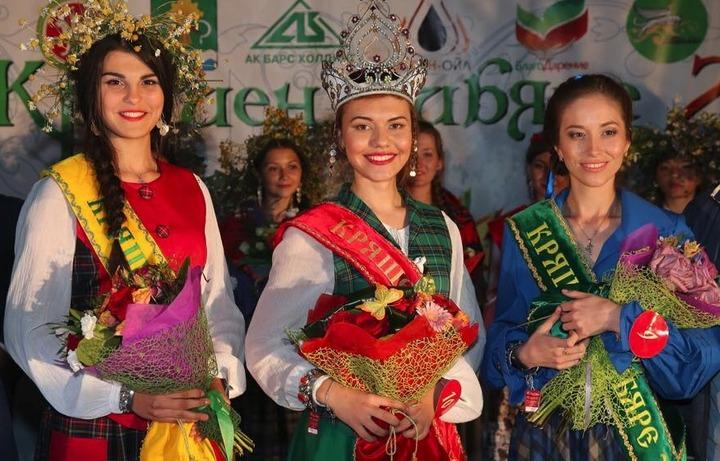 Кряшенскую красавицу года выбрали на Питрау в Татарстане