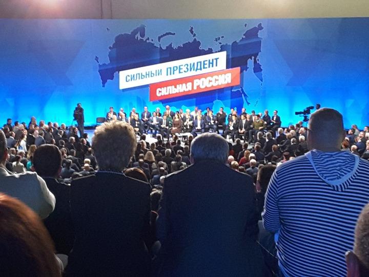 Лидеры национально-культурных объединений поддержали кандидатуру Путина