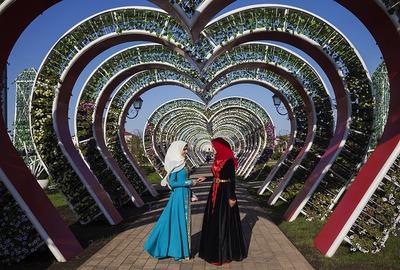 Новый парк в Грозном построили ко Дню чеченской женщины