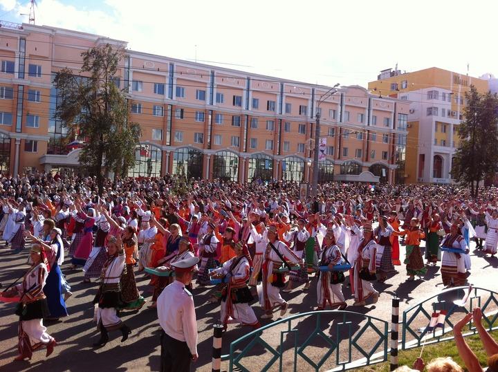 1000-лет единения: национальный парад в Саранске